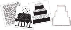 wedding cutter set