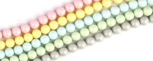 pastel pearl Swarovski